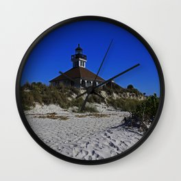 Boca Grande Lighthouse III Wall Clock