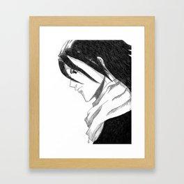 Byakuya Kuchiki Framed Art Print