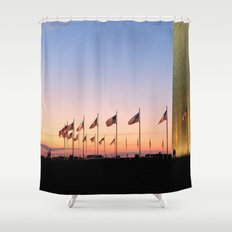 My Country 'tis of Thee Shower Curtain