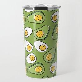 Egg and avocado Travel Mug