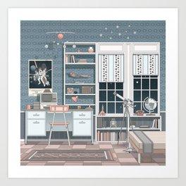 Spaceroom Art Print