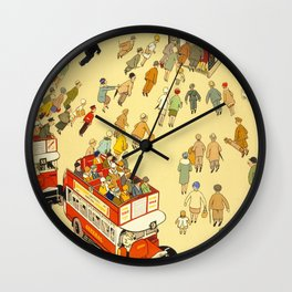 The Lure Of The Underground Wall Clock