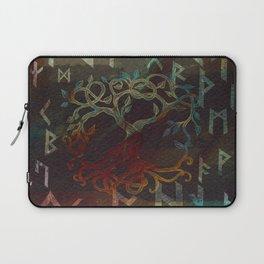 Tree of life  -Yggdrasil - and runes Laptop Sleeve