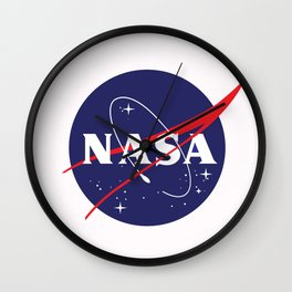 I Need My Space NASA Wall Clock