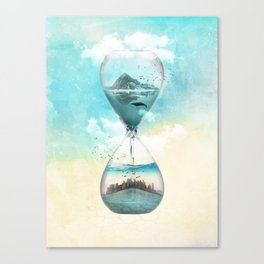 11th Hour Glass Canvas Print