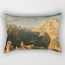 Zion Mornings - 127/365 National Parks Rectangular Pillow