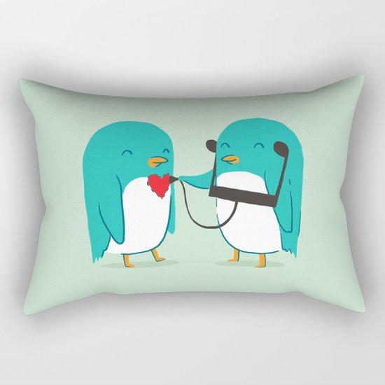 The sound of love Rectangular Pillow
