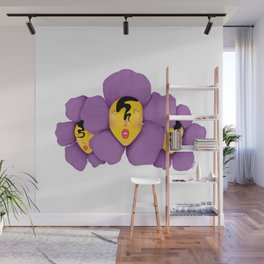 Some Flower Gals Wall Mural