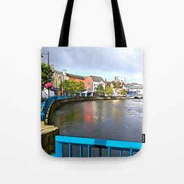 Irish Charm in Sligo Town Tote Bag