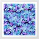 LILY BOUNTIFUL BLUE by saundramyles