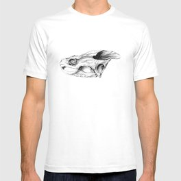Snapping Turtle Skull T-shirt