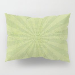 Green sun - solid colors and lifestyle Pillow Sham