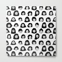 Girls Girls Girls Metal Print