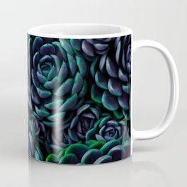 Midnight Succulent Garden Coffee Mug