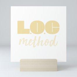 LOC Method Type [Yellow] Mini Art Print