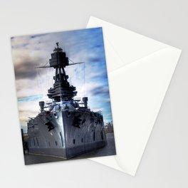 Battleship USS Texas  Stationery Cards