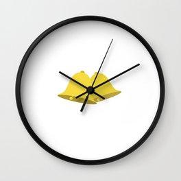 golden bell Wall Clock