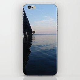 Ripple Pier iPhone Skin