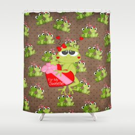 For My Sweetie Shower Curtain