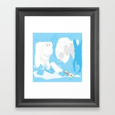 Snow cone anyone? Framed Art Print