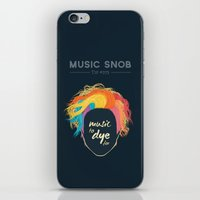 paramore iPhone & iPod Skins featuring Music to DYE for — Music Snob Tip #075 by Elizabeth Owens