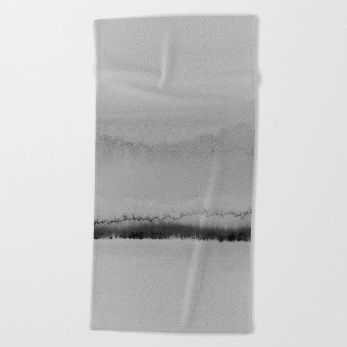 Simple Landscape Beach Towel