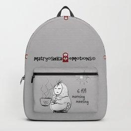 SKETCHY MORNING Backpack
