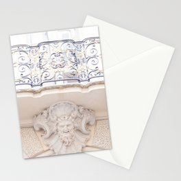 Beautiful Balcony in Paris France Stationery Cards
