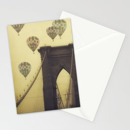 Balloons Over the Bridge Stationery Cards