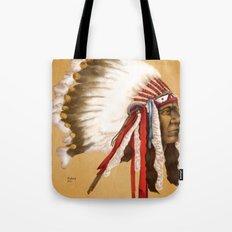 Crow Native American Tote Bag