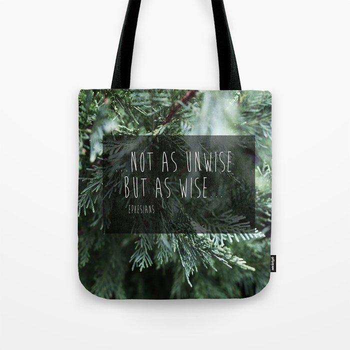 Ephesians Pine Tote Bag