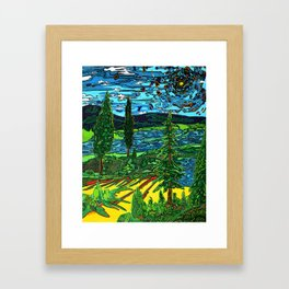 Perception of a Landscape Framed Art Print