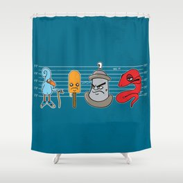 Guilty As Charged Shower Curtain
