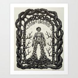 Return to Xanthophyll Art Print