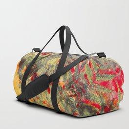flowers pattern 31 #flowers #flora #pattern Duffle Bag
