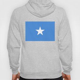 National flag of Somalian - Authentic version to scale and color Hoody