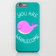Whale, thank you! -Pink Version Slim Case iPhone 6s