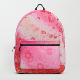 Pink Watercolor abstract Backpack