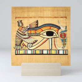 Egypt Nekhbet Eye Horus Mini Art Print