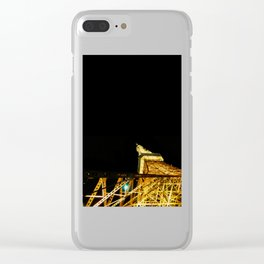 Nightly Tokyo Tower Clear iPhone Case