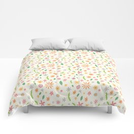 Colourful Daisies Comforters