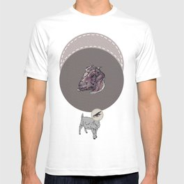 The All-Seeing Goat (Square) T-shirt