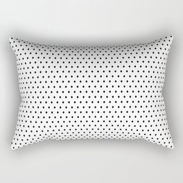 black diamond pattern Rectangular Pillow