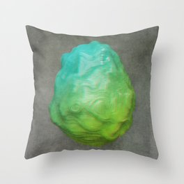 Anaglyph // Ovoid Throw Pillow