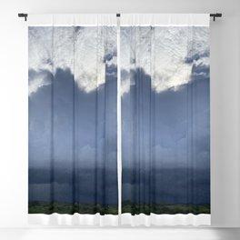 Blue Skies Blackout Curtain