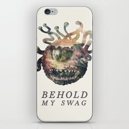Beholder (Typography) iPhone Skin