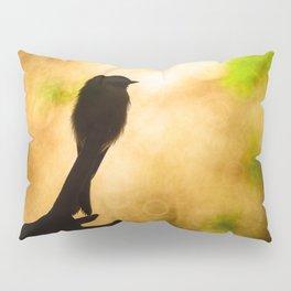 Chickadee Bokeh Pillow Sham