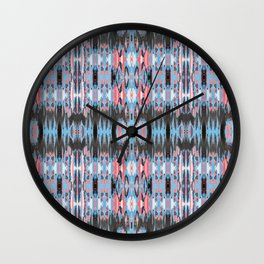 American Ikat Wall Clock