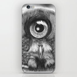 Evolution: Great Gray Owl iPhone Skin