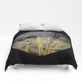 Golden moon Comforters